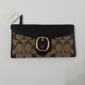 NWT Brown coach wallet